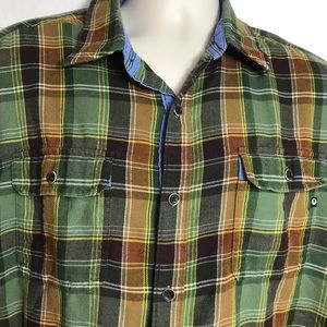 Marmot long sleeve flannel shirt